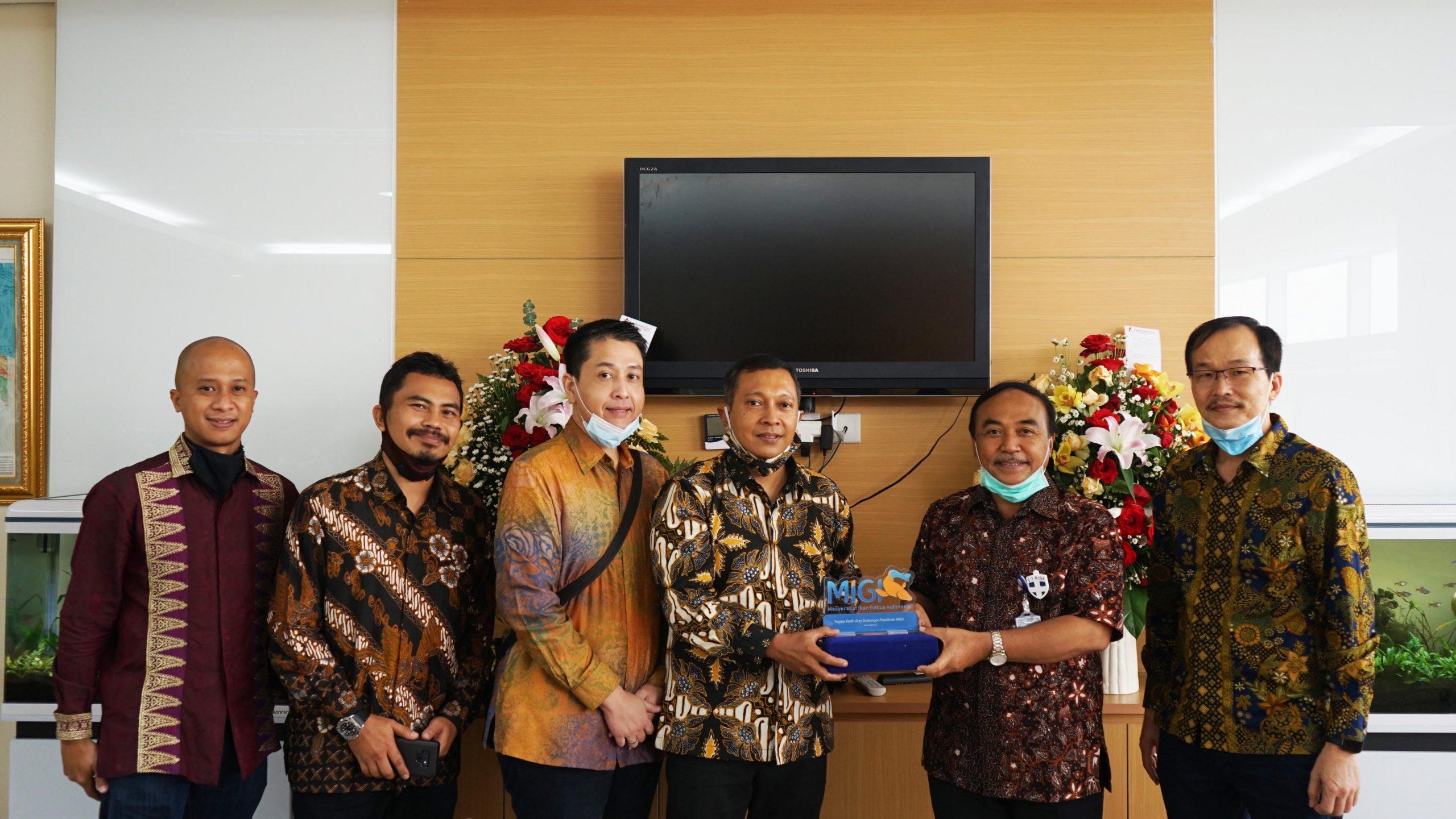 Kementerian Kelautan dan Perikanan (KKP) Mendukung  Riset Ikan Gabus Untuk Covid-19
